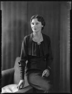 Catherine Emma (née Treadwell), Lady Dick, by Bassano Ltd - NPG x31145
