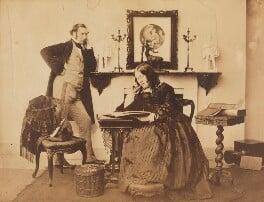 Humphrey Chamberlain; Agnes Turner (née Chamberlain), by Benjamin Brecknell Turner - NPG P1003