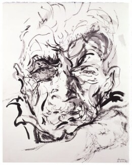 John Berger, by Maggi Hambling, 2000 - NPG  - © National Portrait Gallery, London