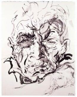 John Berger, by Maggi Hambling, 2000 - NPG 6646 - © National Portrait Gallery, London
