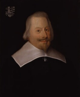 John Pym, by or after Edward Bower - NPG 6650