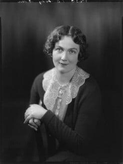 Edith Mary Patricia (née Prendergast), Lady Eden, by Bassano Ltd - NPG x74725
