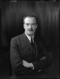 Sir Timothy Calvert Eden, 8th Bt, by Bassano Ltd - NPG x80935