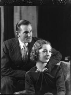 Fred Perry; Helen Vinson, by Bassano Ltd, 10 January 1936 - NPG x80937 - © National Portrait Gallery, London