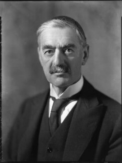 Neville Chamberlain, by Bassano Ltd - NPG x81268
