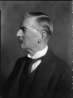 Neville Chamberlain, by Bassano Ltd - NPG x81271