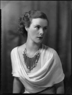 Anne Parsons (née Messel), Countess of Rosse, by Bassano Ltd - NPG x81279