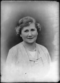 Marguerite Courtenay (née Silva), Countess of Devon, by Bassano Ltd - NPG x37467