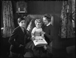 Geoffrey Massey; Daniel Massey; Adrianne Allen (Adrianne Massey), by Bassano Ltd - NPG x31160