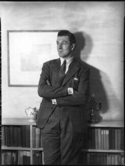 Sir Michael Redgrave, by Bassano Ltd - NPG x81305