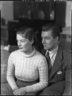 Rachel Kempson, Lady Redgrave; Sir Michael Redgrave, by Bassano Ltd - NPG x81307