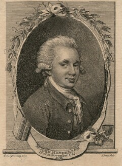 John Henderson, by John Jones, published by  John Sewell, after  Thomas Gainsborough - NPG D18096