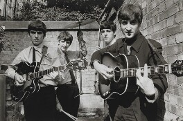 The Beatles (George Harrison; Ringo Starr; Paul McCartney; John Lennon), by Terry O'Neill - NPG x126131