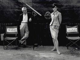William Wyler; Audrey Hepburn, by Terry O'Neill - NPG x126132