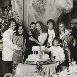 The wedding of Ringo Starr and Barbara Bach, by Terry O'Neill, 27 April 1981 - NPG x126137 - © Iconic IMages/Terry O'Neill