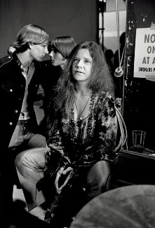 Janis Joplin, by Terry O'Neill - NPG x126143