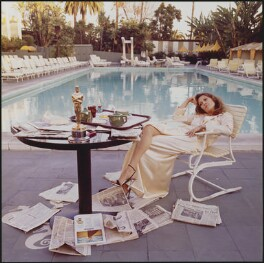 Faye Dunaway, by Terry O'Neill - NPG x126147