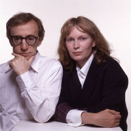 Woody Allen; Mia Farrow, by Terry O'Neill, 1989 - NPG x126154 - © Iconic IMages/Terry O'Neill