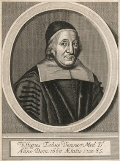 Tobias Venner, after William Faithorne - NPG D18102