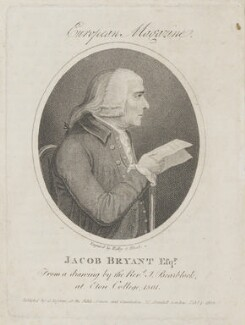 Jacob Bryant, by Ridley & Blood, published by  James Asperne, after  J. Bearblock - NPG D14943