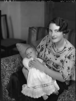 Patrick Maurice Pakenham; Elizabeth (née Harman), Countess of Longford, by Bassano Ltd - NPG x80941
