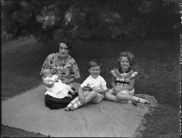 'The Pakenham family', by Bassano Ltd, 24 June 1937 - NPG x80944 - © National Portrait Gallery, London