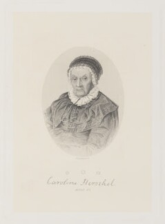 Caroline Lucretia Herschel, by Joseph Brown, after  Unknown artist - NPG D14946