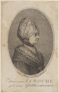 Sophie von La Roche (Anna Sophie Gutermann), by Tintzenich - NPG D14952
