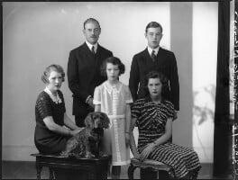 'The Wernher family', by Bassano Ltd - NPG x75339