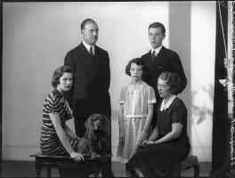 'The Wernher family', by Bassano Ltd - NPG x75340