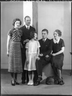 'The Wernher family', by Bassano Ltd - NPG x75341