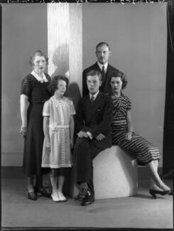 'The Wernher family', by Bassano Ltd - NPG x75343