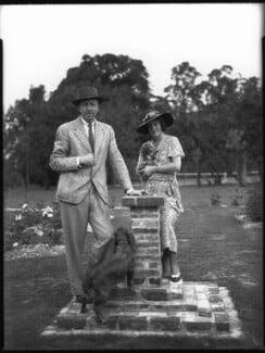 Archibald Joseph ('A.J.') Cronin; Agnes Mary Cronin (née Gibson), by Bassano Ltd - NPG x30882