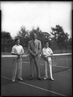 Vincent Archibald Patrick Cronin; Archibald Joseph ('A.J.') Cronin; (Robert Francis) Patrick Cronin, by Bassano Ltd - NPG x30884