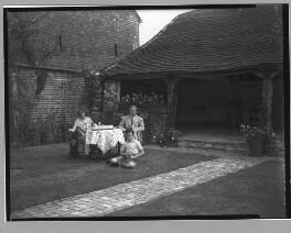 Agnes Mary Cronin (née Gibson); (Robert Francis) Patrick Cronin; Archibald Joseph ('A.J.') Cronin, by Bassano Ltd - NPG x30887
