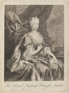 Princess Amelia Sophia Eleanora, after Jacopo Amigoni - NPG D14961