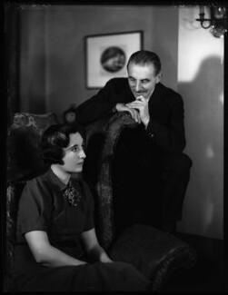 Susan Lorna Frankau (née Harris); Gilbert Frankau, by Bassano Ltd - NPG x31196