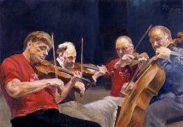 Lindsay Quartet (Peter Cropper; Ronald Birks; Robin Ireland; Bernard Gregor-Smith), by György Gordon, 2003 - NPG 6649 - © National Portrait Gallery, London