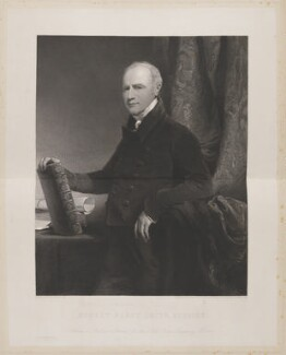 Robert Percy Smith (Bobus Smith), by George Thomas Doo, printed by  McQueen (Macqueen), after  John Jackson - NPG D14968