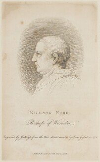 Richard Hurd, by James Neagle, published by  T. Cadell & W. Davies, after  Isaac Gosset - NPG D14971