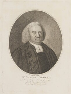Samuel Ogden, by G. Scott, published by  E. & S. Harding, after  Frans van der Mijn (or Myn) - NPG D14972
