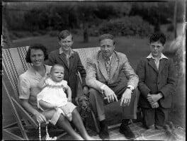 The Cronin family, by Bassano Ltd - NPG x30953
