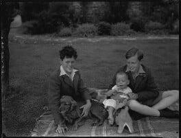Vincent Archibald Patrick Cronin; Andrew Cronin; (Robert Francis) Patrick Cronin, by Bassano Ltd - NPG x30955