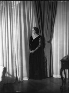 Sydney (née Bowles), Lady Redesdale, by Bassano Ltd - NPG x30916
