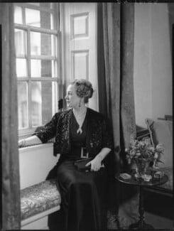 Anne Vere Chamberlain (née Cole), by Bassano Ltd - NPG x81353