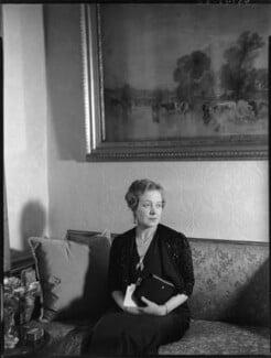 Anne Vere Chamberlain (née Cole), by Bassano Ltd - NPG x81354