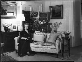 Anne Vere Chamberlain (née Cole), by Bassano Ltd - NPG x81356