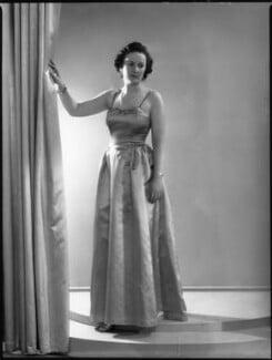 Molly Angela (née Cayzer), Lady Wyldbore-Smith, by Bassano Ltd - NPG x37275