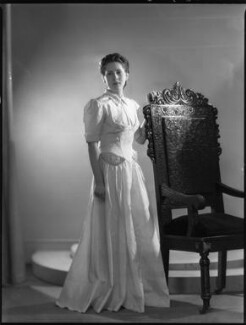 Hon. Aedgyth Bertha Frances Callinicos (née Lyon-Dalberg-Acton), by Bassano Ltd - NPG x37277
