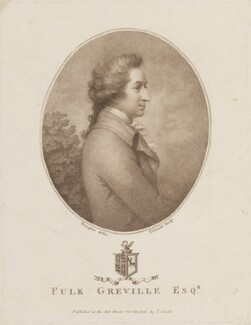 William Fulke Greville, by and published by Jean Condé, after  Ozias Humphry - NPG D14978